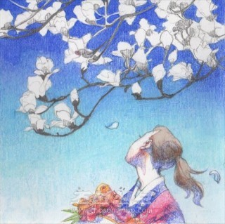 목련꽃 필 때 노래소리(리정옥)