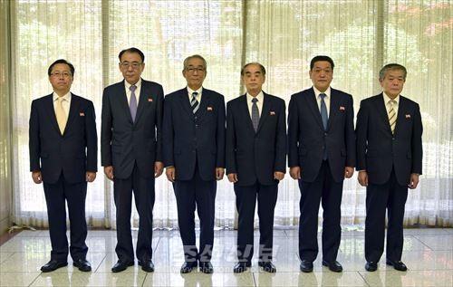 조선로동당 제7차대회 재일본조선인축하단