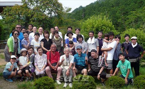 《여름불고기모임》 참가자들