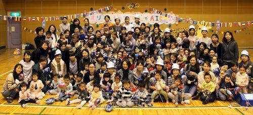《어린이페스타-어리님픽2016 in 아이찌》 참가자들