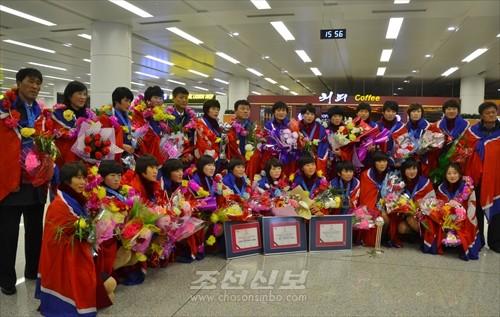 국제축구련맹 2016년 20살미만 녀자월드컵경기대회에서 우승한 조선녀자축구팀