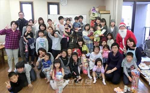 송년모임 참가자들