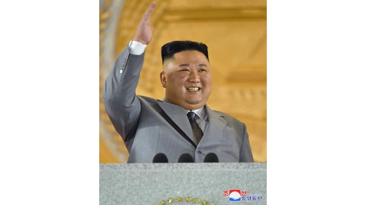 조선로동당창건 75돐경축 열병식에서 하신 김정은원수님의 연설 (동영상 삽입)